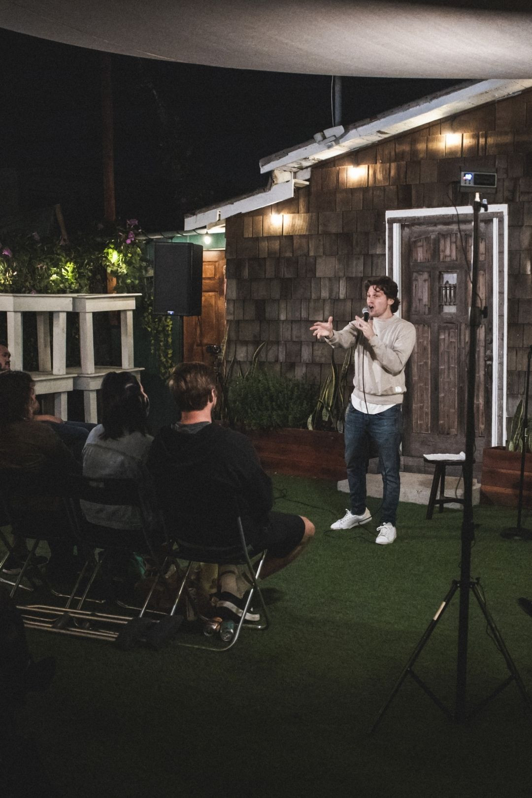 Outdoor Live Comedy Shows