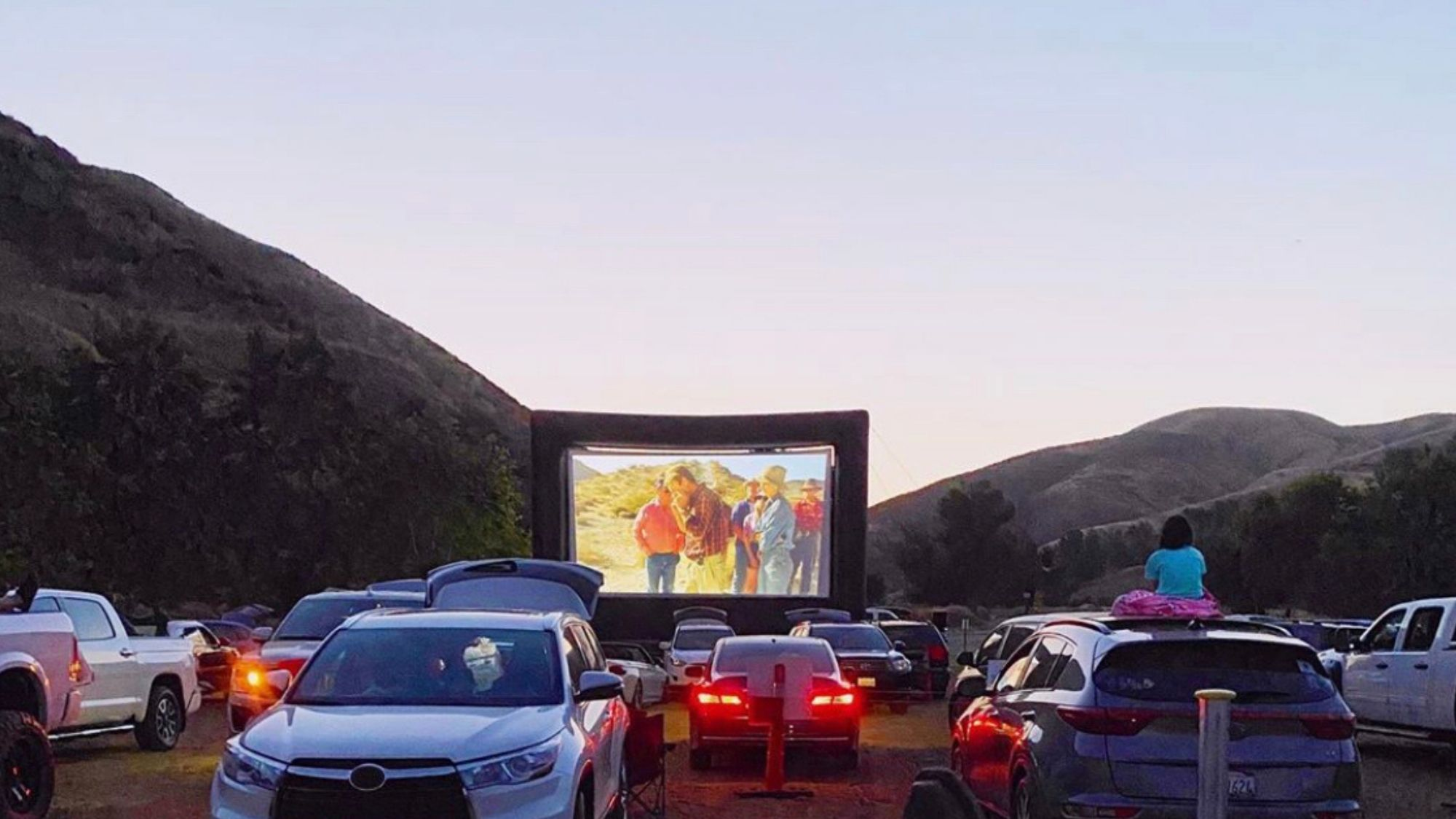 Drive-In Movies in Culver City