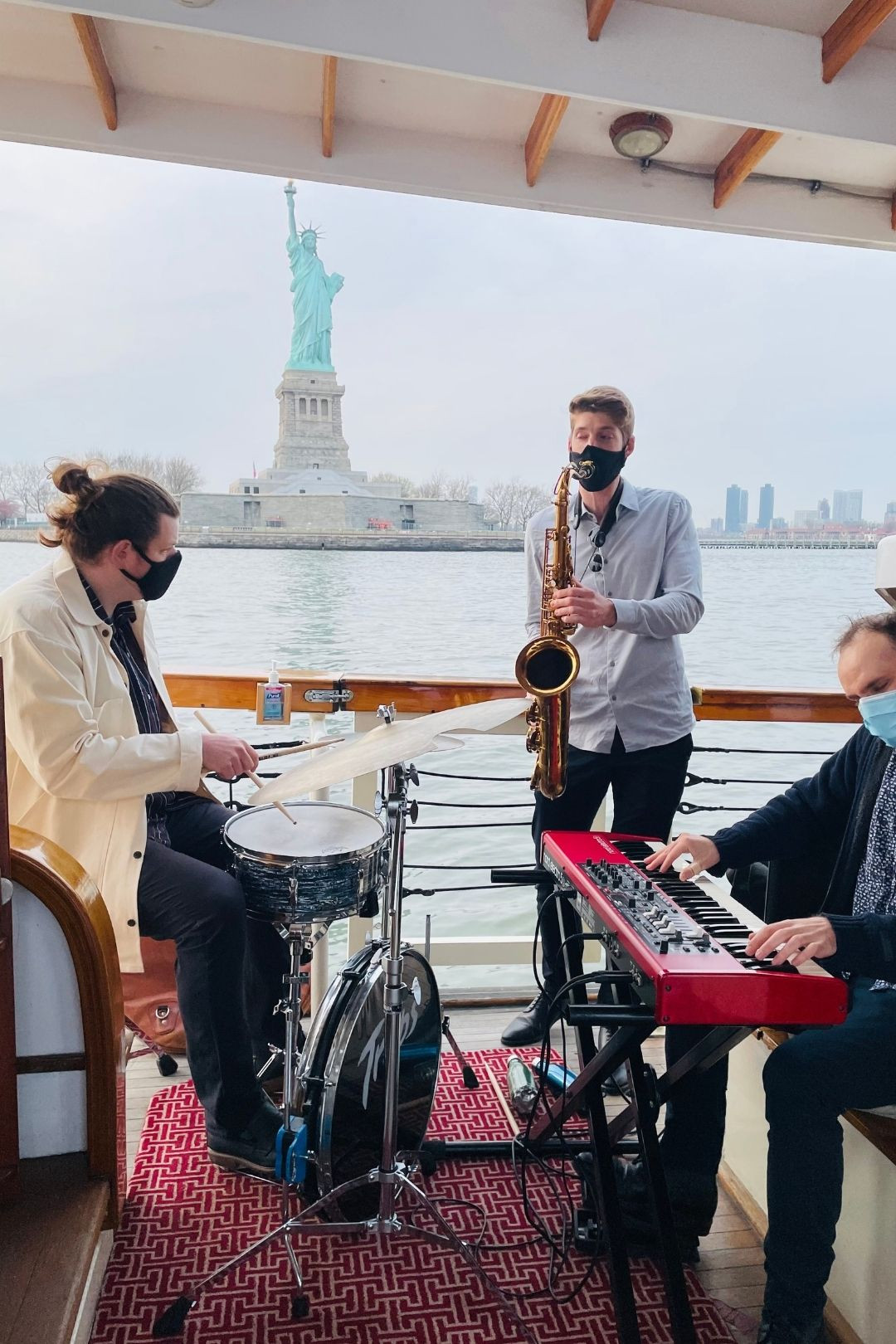 Live Jazz on a Cruise Around NYC