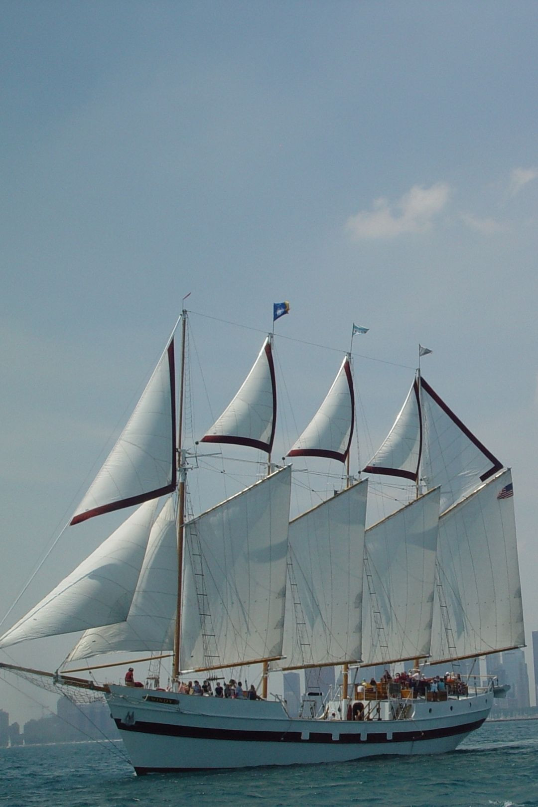 Chicago Skyline Sail Aboard Tall Ship Windy