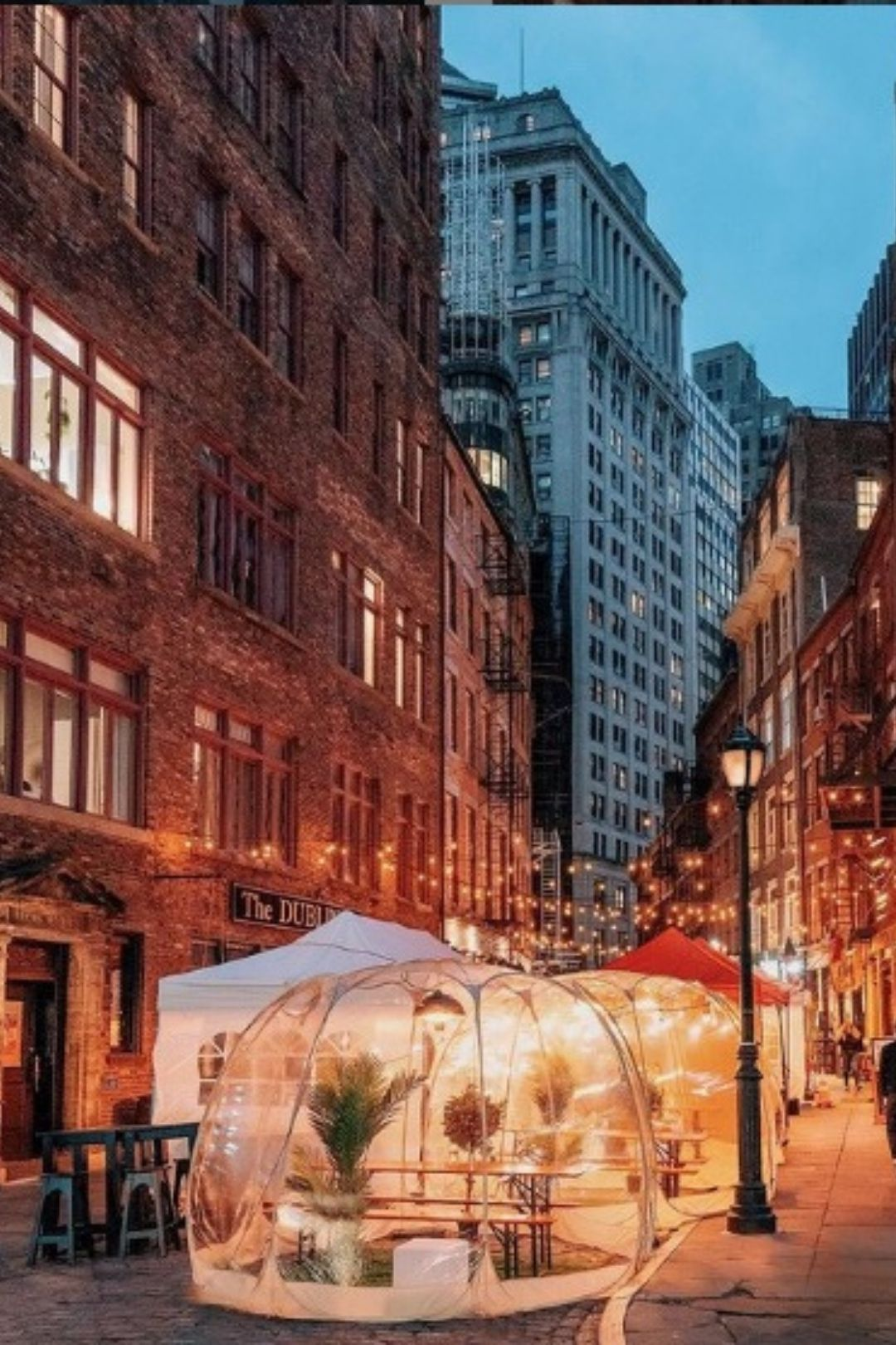 Date Night Cabanas and Brunch Bubbles on Stone Street
