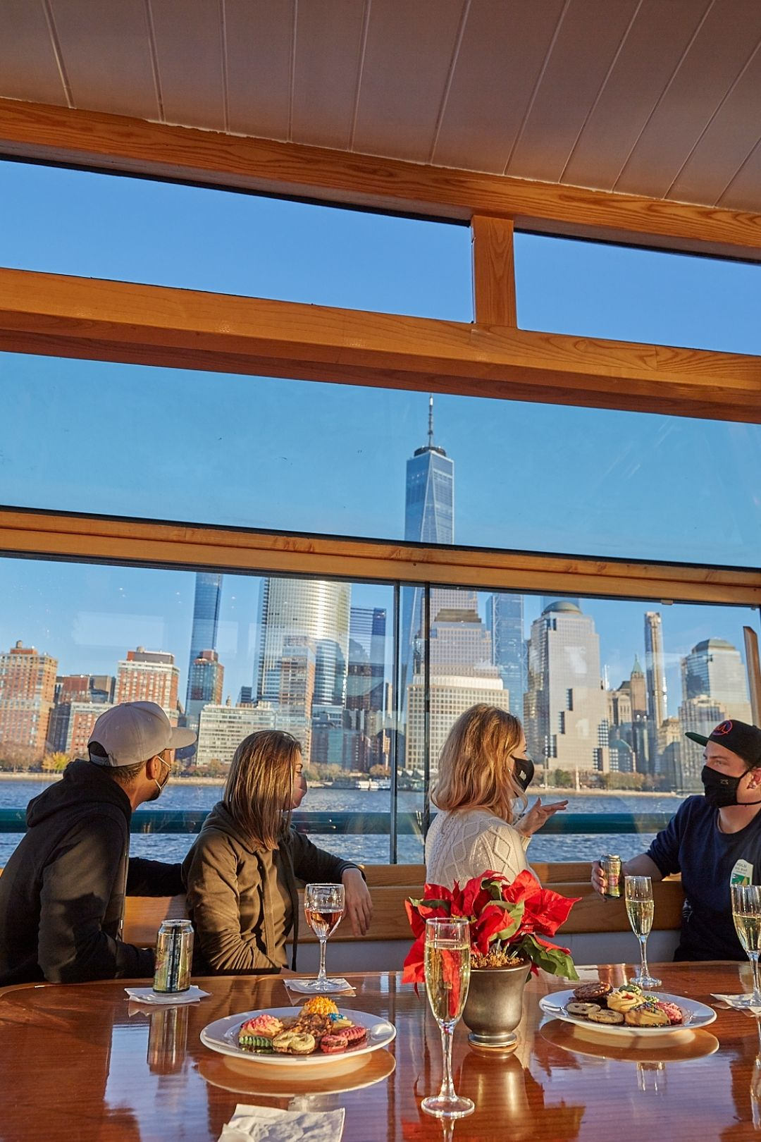 Champagne Brunch Cruises In NYC