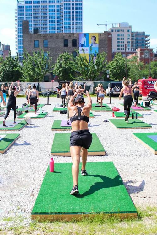Studio Three Outdoor Yoga & Brunch Series